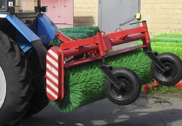 Щетка коммунальная для трактора