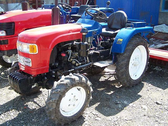 Трактор Уссуриец